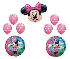 Disney Minnie Mouse Balloon Set Birthday Party Decoration Pink BowBaby Shower