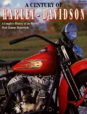 A CENTURY OF HARLEY-DAVIDSON, COMPLETE HISTORY,  HENSHAW. NEW 1998  STOEGER BOOK