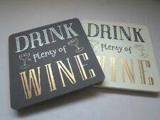 Unbranded Glass Christmas Coasters