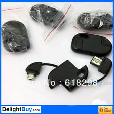 Keyring Data Sync Micro USB Mini Cable for Samsung Galaxy Tab 3 4