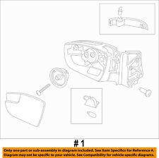 FORD OEM 13-16 Escape Door Side Rear View-Mirror Assy Left CJ5Z17683EA