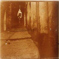 Casbah Algeri Algeria Foto Stereo PL58L29n14 Placca Lente Vintage