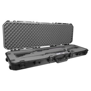 "Plano PLA11852 52"" All Weather Hard Sided Tactical Rifle Long Gun Case, Black"