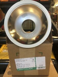LIGHTOLIER 1112 SPECULAR GOLD ALZAK CONE LYTECASTER NEW IN BOX OLD STOCK.