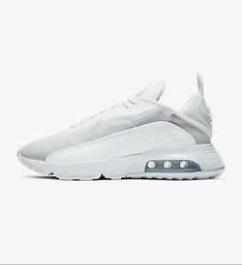 Nike Air Max 2090 White Grey Mens Running Shoes Lifestyle Sneakers BV9977-100