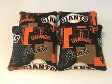 San Francisco Giants Cornhole Bean Bags Set Of 4 Top Quality Toss Game