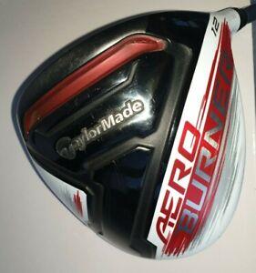 TaylorMade Golf Driver 12° AeroBurner weiß RH Kopf i.0.