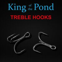 E-Sox Extra Strong Trebles Barbed All Sizes
