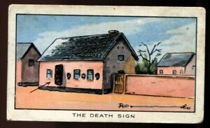 Tobacco Card, Carreras, RIPLEYS BELIEVE IT OR NOT, 1934, Death Sign Hungary, #6