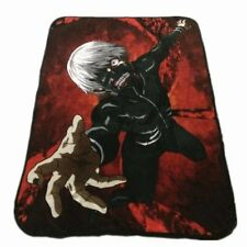 Anime Tokyo Ghoul Coral Fleece Throw Blanket Soft Warm Bed Sheet 152*117CM
