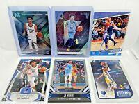 Ja Morant 2019-20 Panini Chronicles 6 Card Rookie Lot - Memphis Grizzlies