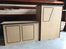 Renault Trafic Camper van Kitchen Unit Pod Cupboards Short Wheel Base MDF 2