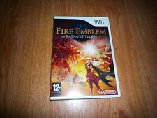 Fire Emblem Radiant Dawn Wii PAL (Russian cover, English game)