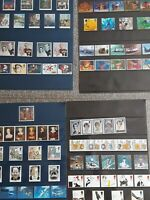 Great Britain MNH collection complete sets 4 pages VF,