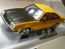 WOW EXTREMELY RARE Opel Manta B GT/E 1980 Yellow & Black 1:43 Schuco-Minichamps