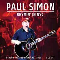 RHYMIN' IN NYC (2CD)  by PAUL SIMON  Compact Disc Double  LFM2CD623