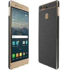 Skinomi Brushed Steel Skin & Screen Protector for Huawei P9