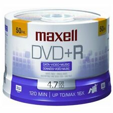 Maxell 16x Dvd+r Media - 4.7gb - 50 Pack (MAX639013)