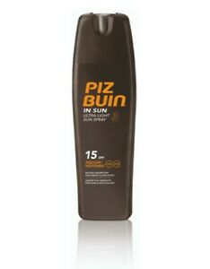 Piz Buin Hydrating Sun Spray Spf 15, 200ml