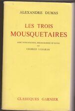 A.Dumas - Les trois mousquetaires - C.Samaran - Relié 1963 - Garnier - 24/3