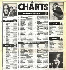 28/12/91 Pgn084 The Nme Charts On28/12/91 The Uk Top Fifty Singles And Albums