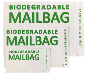 Biodegradable Mailing Bags Parcel Postage Poly Mailer Mail Bag Sack Eco-Friendly