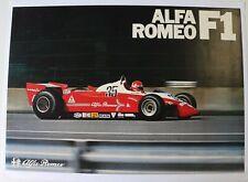 Plakat Original Alfa Romeo F1 Bruno Giacomelli 1980-81 P.Depailler Formel 1