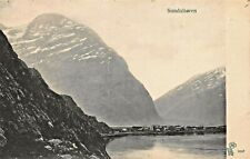 SUNDALSOREN MORE og ROMSDAL NORWAY~PANORAMA VIEW~1911 PHOTO POSTCARD