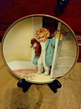 """Bessie Gutmann """"Good Morning"""" A Child'S Best Friend Hamilton Collection"""