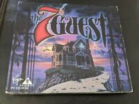 Vintage The 7th Guest PC CD-ROM Video Game 1992 2 Disc Set by Virgin/Trilobyte