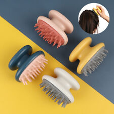 Scalp Shampoo Washing Head Hair Growth Massage Brush Silicone Comb Bath CareBDA
