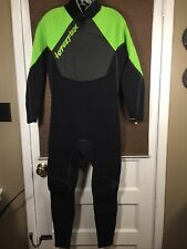 Hyperflex Wetsuits Men's Large Voodoo 3/2mm Full suit Wetsuit Back ZIP NWT $250