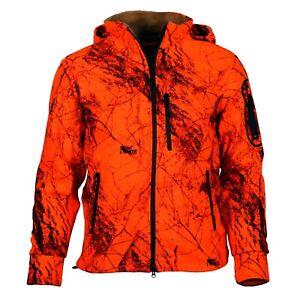 Gamehide Fleece Lined Blaze Orange Whitetail Hunting Jacket