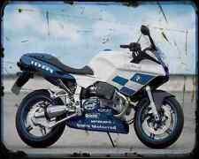 BMW R1100S BOXERCUP 1 A4 Foto Impresión moto antigua añejada De