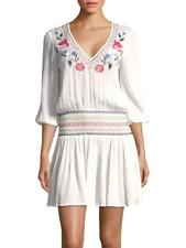 8a689938f1 Shoshanna Floral Smocked Beach Cover-up Dress Sz L