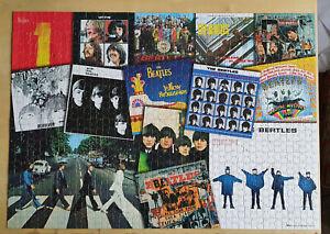 beatles album covers jigsaw