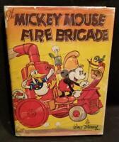 Walt Disney MICKEY MOUSE FIRE BRIGADE 1936 true 1st ED w/DJ RARE Disneyana Color
