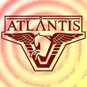 Stargate Atlantis Laptop Vinyl Decal / Sticker SG1 SGC Window Truck Car Computer