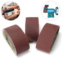 5 x Abrasive Sanding Belt Sander Grinding Polishing Tool 533*75mm Grit 150-800#
