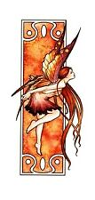 SEXY ART NOUVEAU AUTUMN FAERY WICCA FAIRY STICKER/VINYL DECAL Selena Fenech