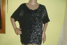 schwarz graues Desigual Shirt Gr L eher XL wie Neu