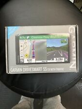 New Garmin Drivesmart 55 EX GPS With Traffic