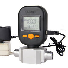 Digital gas flow meters compressed air /digital display meter 0-200L DHL SHIP