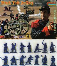 Strelets 1/72 Crimean War French Field Artillery # 065