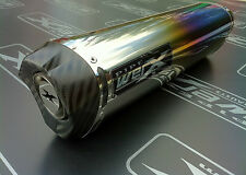 Kawasaki ZX10R 2011 2012 2013 Colour Titanium Tri Oval,Carbon Outlet,Exhaust Can
