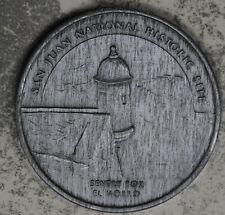 San Juan National Historic Site Commemorative  Medal - Sentry Box El Morro