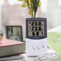 LCD Numérique Température intérieur/extérieur Hygromètre & Thermomètre