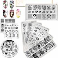 BORN PRETTY Spring Style Nail Art Immagine Piastra Di Stampaggio  Tool