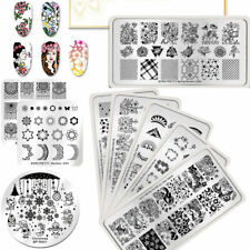 BORN PRETTY Spring Nature Nail Art Stamping Plates Flower Image Stamp Template