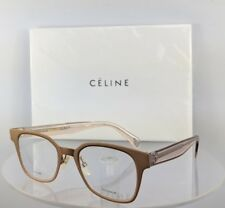 c0246e99ebf Brand New Authentic Celine CL 41456 Eyeglasses DDB Transparent Pink Salmon  Frame